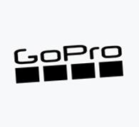 White-gopro-logo
